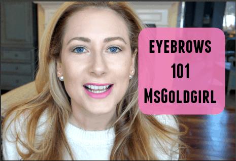 My Eyebrow Essentials