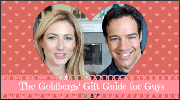 Valentine's Gift Guide for Men: Courtesy of Mr. Goldgirl