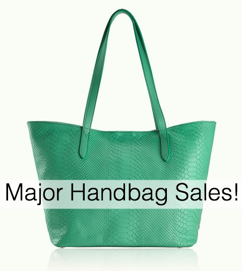 MAJOR Handbag Sales Going On!