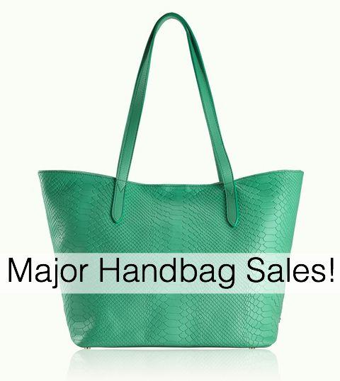 MAJOR Handbag Sales Going On!