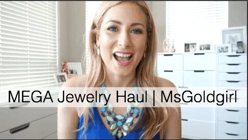 MEGA Jewelry Haul