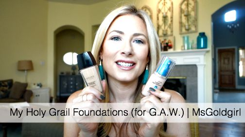 My Holy Grail Foundations
