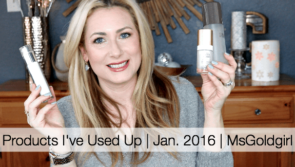 Products I've Used Up | Jan. 2016 Edition
