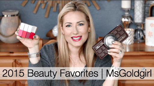 2015 Beauty Favorites