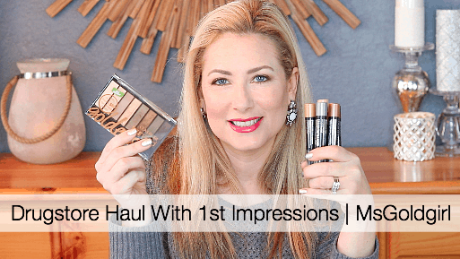Drugstore Haul With 1st Impressions