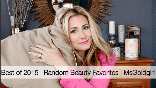 Best of 2015 | Random Beauty Favorites