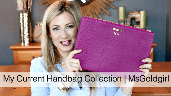 My Updated Handbag Collection