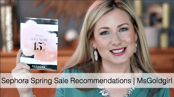 Sephora VIB Spring 2016 Sale Recommendations