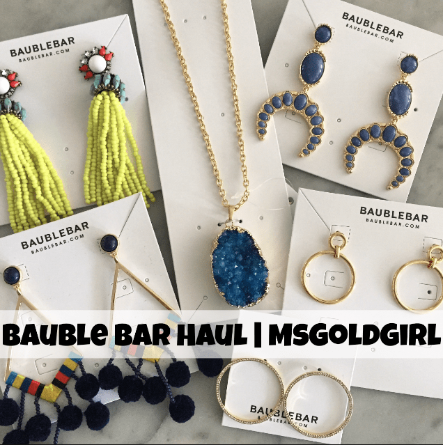 BaubleBar Haul & Private Sale