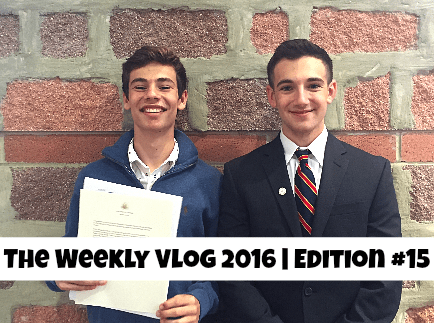 The Weekly Vlog 2016 // Edition #15