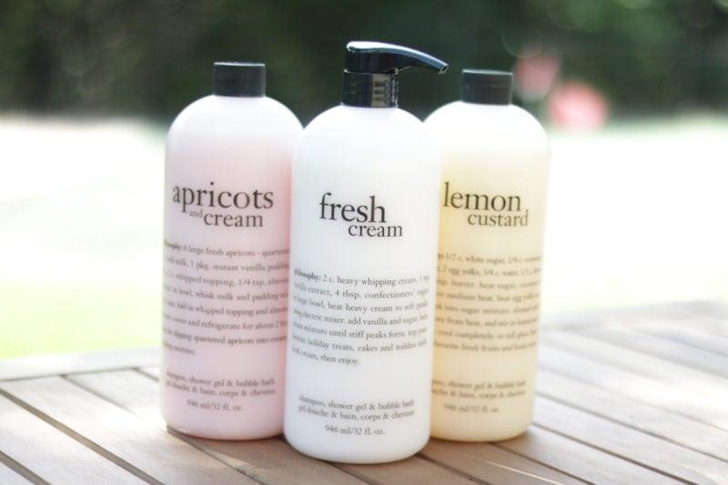 Philosophy Custard & Cream Super-Size Shower Gel Trio
