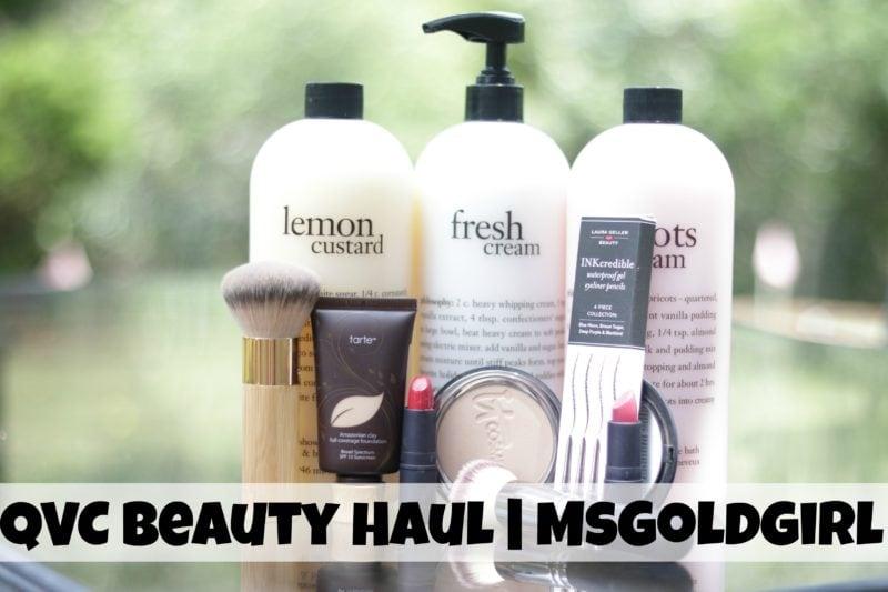 QVC Beauty Haul & 1st Impressions