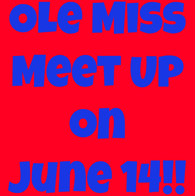 Ole Miss Meet Up at Pink & Proper