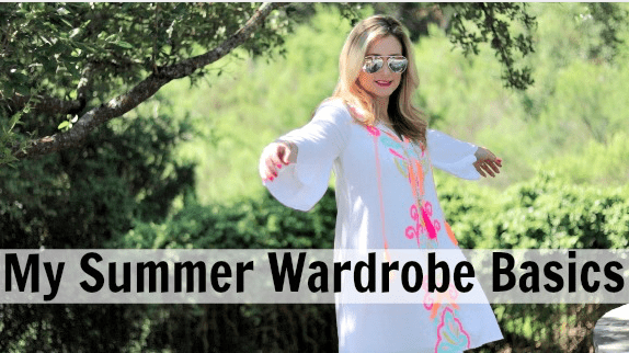 My Summer Wardrobe Basics