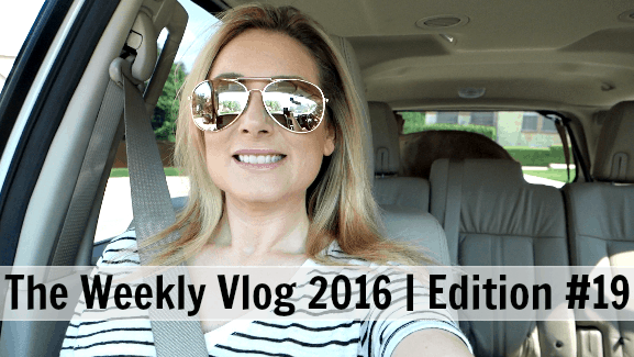 The Weekly Vlog 2016 // Edition #19