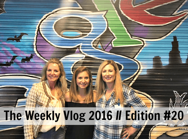 The Weekly Vlog 2016 // Edition #20
