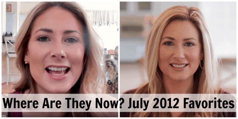 Where Are They Now July 2012 Favorites