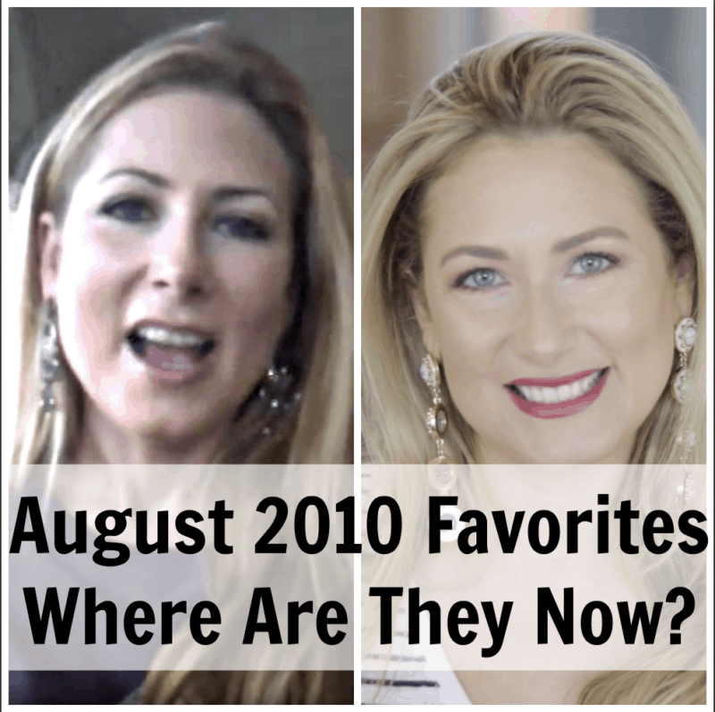 Where Are They Now? August 2010 Favorites
