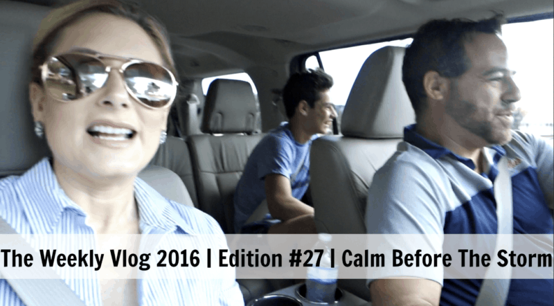 The Weekly Vlog 2016 | Edition #27 |Calm Before The Storm
