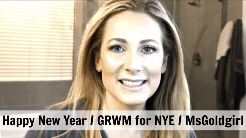 Happy New Year!! Get Ready With Me for NYE
