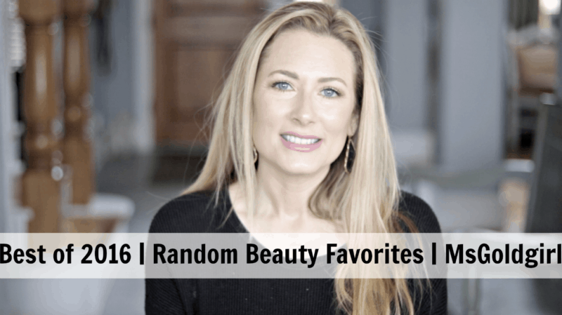 2016 Random Beauty Favorites