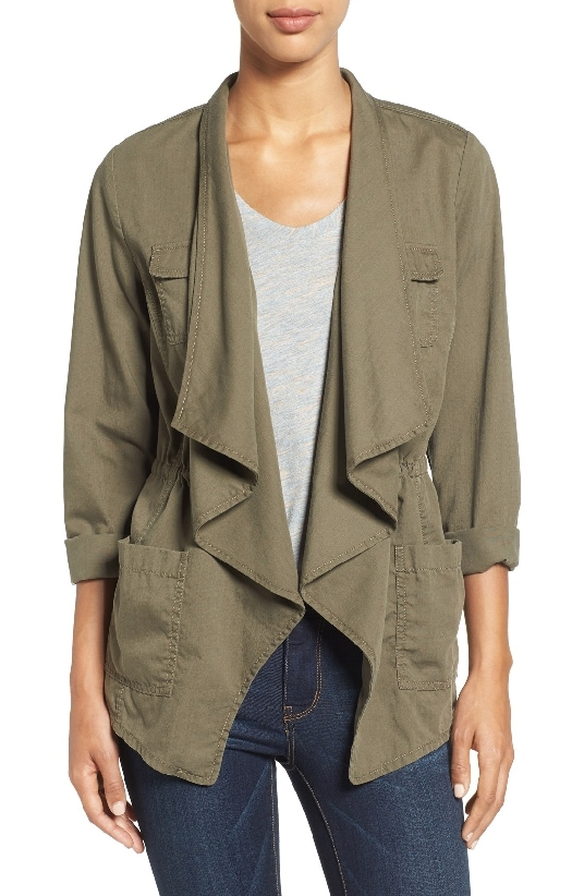 Caslon Draped Utility Jacket is #4 on the Top Sellers of 2016 on MsGoldgirl list.