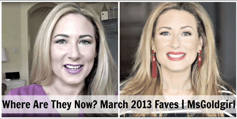 Where Are They Now-A Look Back At March 2013 Favorites
