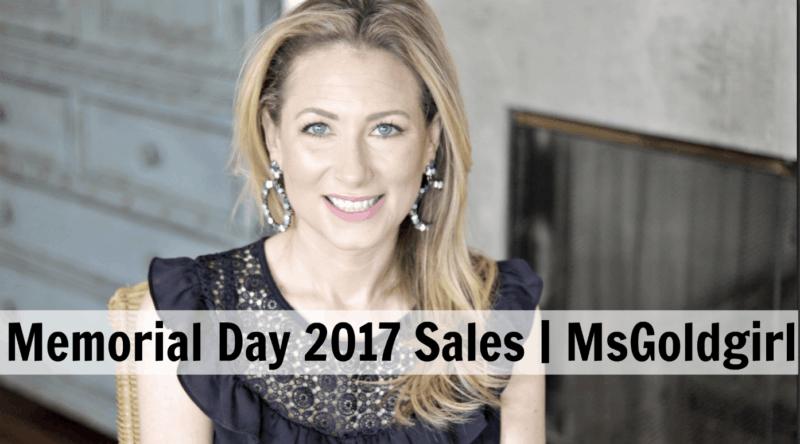 Memorial Day 2017 Sales