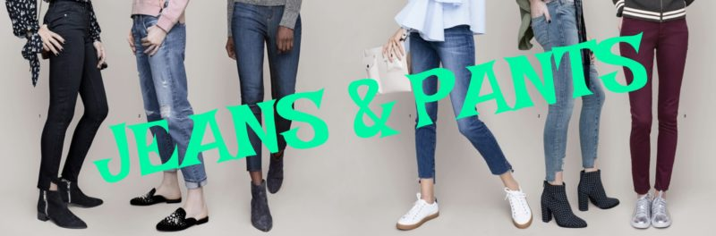 Nordstrom Anniversary Sale Jeans & Pants Picks