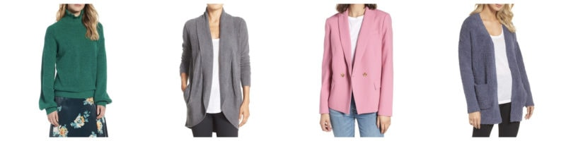 Nordstrom Anniversary Sale Sweaters Cardigans and Blazers