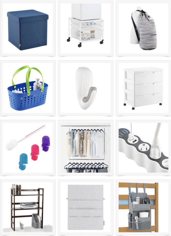 College Dorm Room Essentials From The Container Store
