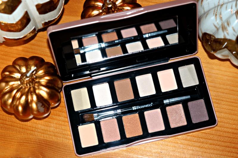 Palette d'ombres à paupières Rose nue de BH Cosmetics