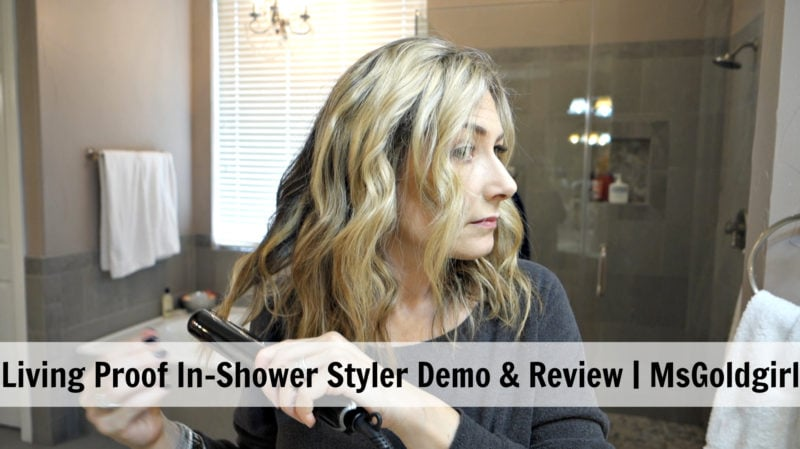 Living Proof In-Shower Styler Demo