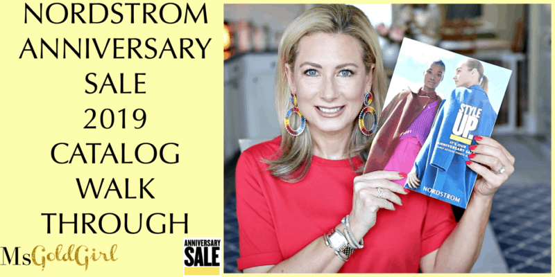 2019 Nordstrom Anniversary Sale Catalog Recommendations