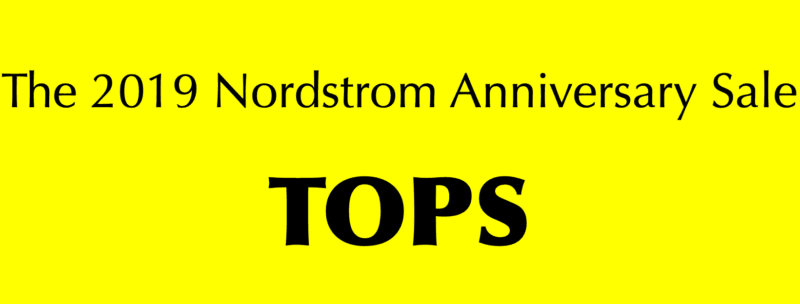 Nordstrom Anniversary Sale | Shirts/Tops/Blouses